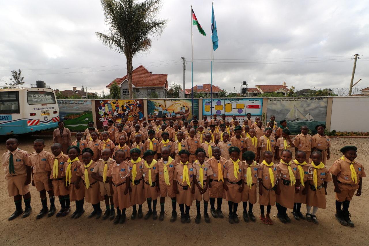 scouts visit