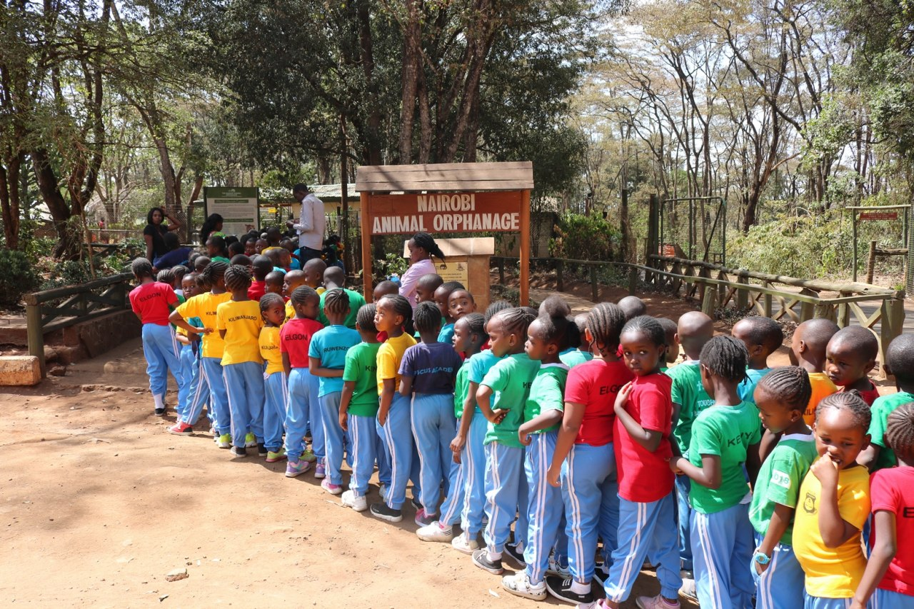 Lower primary trip to Animal Orphanage and Nairobi Lunar Park